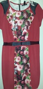 Material Girl Red dress size XL